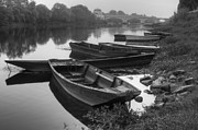 Debra and Dave Vanderlaan - Boats on the Vienne