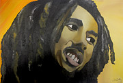 Bob Marley Painting Originals - BoB by Chelsea VanHook