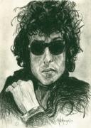 Bob Dylan Art - Bob Dylan 1 by Michael Morgan