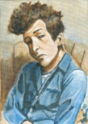 Bob Dylan Art - Bob Dylan by Beverly Burris
