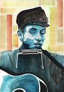 Bob Dylan Print by Chris Cox
