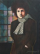 Bob Dylan Art - Bob Dylan by J W Kelly
