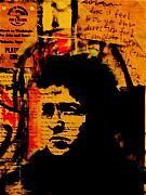 Portraits Mixed Media - Bob Dylan by Jeff DOttavio