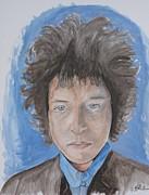 Bob Dylan Print by Joseph Papale