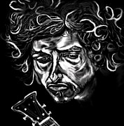 Bob Dylan Art - Bob Dylan Like A Rolling Stone by Herbert Renard