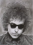 Bob Dylan Print by Mike OConnell