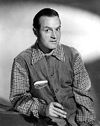 Golf Club Prints - Bob Hope, 1941 Print by Everett