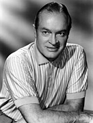 Striped Shirt Posters - Bob Hope, 1950s Poster by Everett