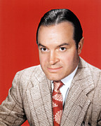Colorized Prints - Bob Hope, Ca. 1950 Print by Everett