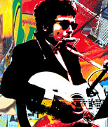 Bob Dylan Art - Bob by Kevin Newton