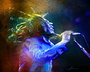 Bob Marley Mixed Media - Bob Marley 01 by Miki De Goodaboom