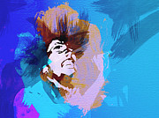 Music Art Prints - Bob Marley 3 Print by Irina  March