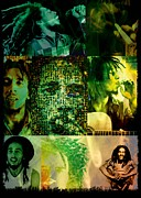 Bob Marley Artwork Posters - Bob marley Poster by Ankeeta Bansal