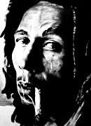 Bdcurran Drawings - Bob Marley by Brian Curran