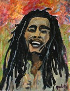 Perform Paintings - Bob Marley by Gretzky