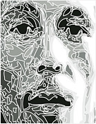 Bob Marley Abstract Prints - Bob Marley Print by Jimmy G
