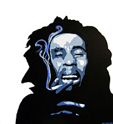 Bob Marley Abstract Prints - Bob Marley Print by Michael Ringwalt
