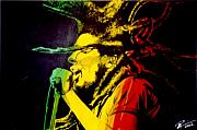 Bob Marley Painting Originals - Bob by Scott Robinson