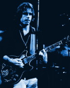 Concert Images Metal Prints - Bob Weir at Winterland 1977 Metal Print by Ben Upham