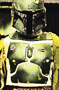 Star Wars Photo Posters - Boba Fett Poster by Micah May