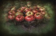 Apples Digital Art Prints - Bobbing Apples Print by The Stone Age