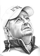 Fsu Posters - Bobby Bowden Poster by Murphy Elliott