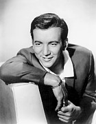 Bracelet Framed Prints - Bobby Darin, C. Mid-1950s Framed Print by Everett