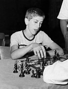 1950s Portraits Photos - Bobby Fischer, Circa 1957 by Everett