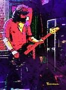Gigs Art - Bobby on Bass by Sadie Reneau