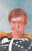 Hockey Paintings - Bobby Orr by Wj Bowers
