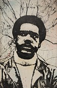 Carlos Mixed Media Posters - Bobby Seale - Black Panther Poster by Dustin Spagnola