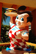 James Kirkikis Posters - Bobs Big Boy Poster by James Kirkikis