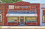 Grocery Store Framed Prints - Bobs Market Framed Print by Alan Hutchins