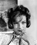 Films By Vittorio De Sica Prints - Boccaccio 70, Romy Schneider Wearing Print by Everett