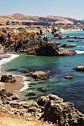 Bodega Bay Prints - Bodega Bay from Duncans Landing Print by Alberta Brown Buller