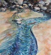 Visionary Women Artists Paintings - Bodega Bay Series by Catherine Foster