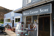 Back Road Prints - Bodega Country Store . Bodega Bay . Town of Bodega . California . 7D12452 Print by Wingsdomain Art and Photography