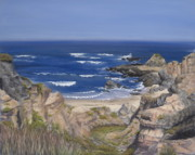 Horizon Pastels - Bodega Headlands by Debbie Harding