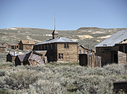 Old Cabins Prints - Bodie Cabins 2 Print by Philip Tolok