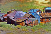 Ghost Town Photo Posters - Bodie Ghost Town Poster by Chris Brannen