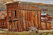 Wooden Building Art - Bodie Ghost Town by Garry Gay