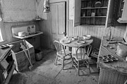 Gold Mine Photos - Bodie Ghost Town Kitchen by Scott McGuire