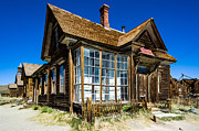 Photogaph Framed Prints - Bodie Ghost Town One Framed Print by Josh Whalen