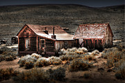 Ghost Town Photo Posters - Bodie House Poster by Chris Brannen