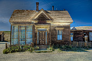 Ghost Framed Prints - Bodie House Framed Print by Greg Nyquist