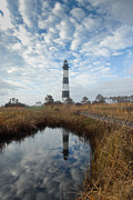 Bodie Island Lighthouse Framed Prints - Bodie Island Light Framed Print by Mark VanDyke