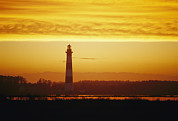 Nautical Structures Photos - Bodie Island Lighthouse, Oregon Inlet by Skip Brown