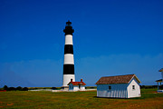 Lighthouses Usa - Bodie Island Lighthouse Outer Banks in North Carolina by Susanne Van Hulst