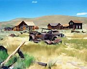 Old Town Digital Art Prints - Bodie Print by Kurt Van Wagner