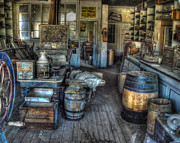 Arrested Posters - Bodie State Historic Park California General Store Poster by Scott McGuire